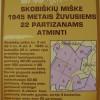 2015-05-15 žuvusių partizanų paminėjimas Skobiškio miške