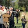 Rudeninės paukščių palydos Kurtuvėnuose, 2017.09.30