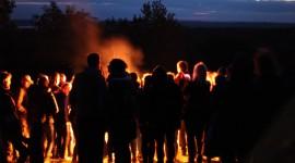 Baltų vienybės ugnies sąšauka ant Girnikų kalno 2020.09.22