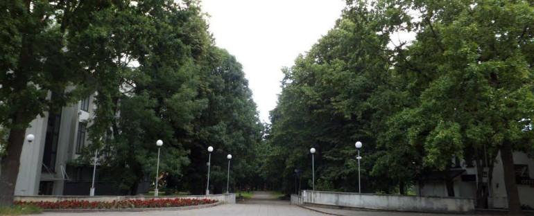 Centrinio Šiaulių miesto parko rekonstravimo projekto viešas svarstymas 2018.05.02