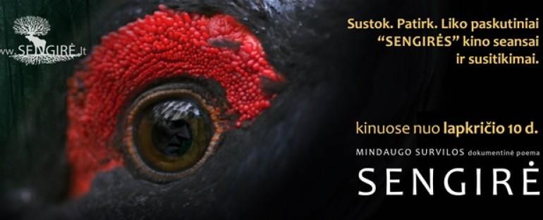 """Susitikimas su filmo """"Sengirė"""" autoriumi Šiauliuose, 2018.11.26"""