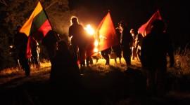 Baltų vienybės ugnies sąšauka ant Girnikų kalno 2021.09.22