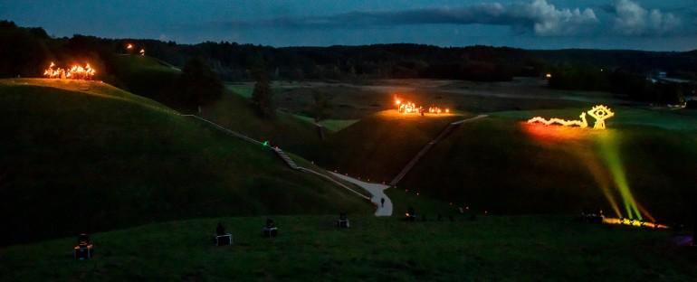 15-tą kartą Baltų vienybės dieną ugnys nušvietė baltų žemes