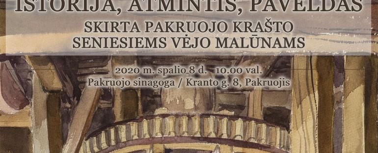 Pakruojo krašto senieji vėjo malūnai, 2020.10.08
