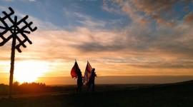 Baltų vienybės dieną ugnys 17-tą kartą nušvietė baltų žemes